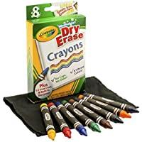 Crayola 大干擦蜡笔,8只装 ( 98 – 5200 ) ...