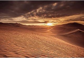 OERJU 7x5 英尺沙漠背景沙丘黄昏狂野西天景观背景神秘生日派对儿童成人摄影摄影摄影工作室壁纸