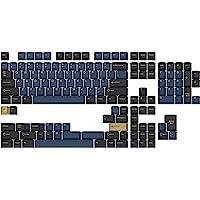Drop + GMK Redsuns 蓝色武士定制机械键盘键帽套装 - 153 键,双轴,樱桃色轮廓,适用于 60%,6…