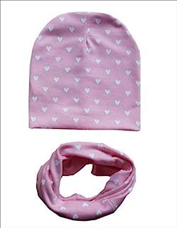 micia luxury 2件套 儿童 棉质围脖 heart pink