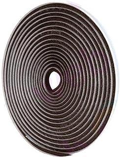 Bulk Hardware BH04956 自粘刷毛防水防尘排尘带,10mm 厚度 x 5 米(3/8 英寸 x 16.25 英尺) - 白色