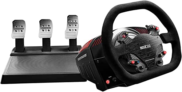 Thrustmaster TS-XW 赛车手(齿轮包含3 - 踏板套装,Force Feedback,270° - 1080°,生态系统,Xbox One/PC)