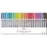 斑马 荧光笔 My Dry Cleaner 25色套装 WKT7-25C