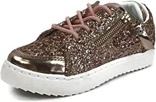 女孩儿童运动闪光时尚运动鞋