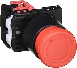 富士电机 φ22.3・25.5共用 紧急停止用按钮开关 红色 AR22V4R-01RZB