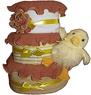Create-A-Gift 3 层大理石宝宝蛋糕