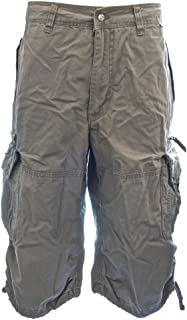 男式膝盖 Hugger 工装短裤45056–*** 棉高级 Longer 耐用 cargos