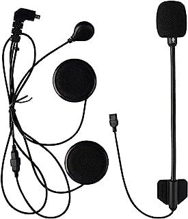 Ole Style 8 针耳机 FreedConn 摩托车头盔扬声器,适用于所有全脸头盔/模块化头盔。耳机适用于 FDC VB/T-COMVB/T-COMSC/T-COM02S /Colo/Colo-RC 蓝牙对讲机