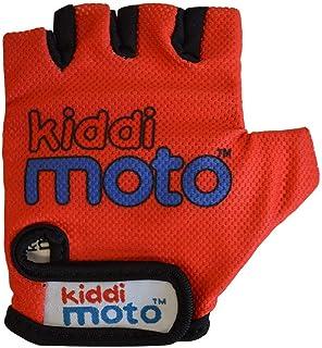 KIDDIMOTO 儿童自行车手套,无指,适合男孩和女孩/自行车手套/自行车儿童手套