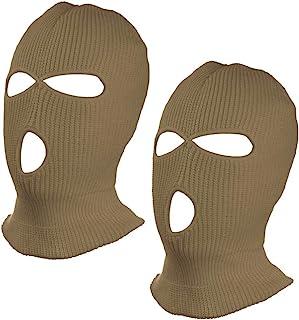 SUNTRADE 3 孔无檐小便帽面罩 男女适用 2 件套