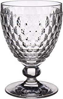 Villeroy & Boch 德国唯宝 Boston 透明水晶暗红色杯子