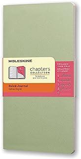 Moleskine Chapters 淡绿色横间纤细口袋型笔记本