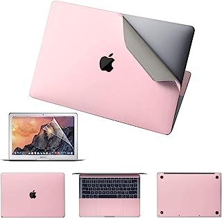 高级 5 合 1 MacBook 全身 3M 保护皮肤贴纸与 MacBook Air 兼容(型号 A2337,2020 年发布) - 玫瑰粉