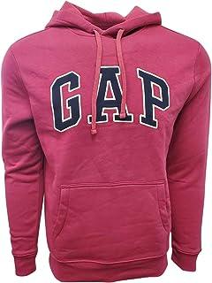 GAP 男式羊毛拱形标志套头连帽衫(L 码,桃红色)