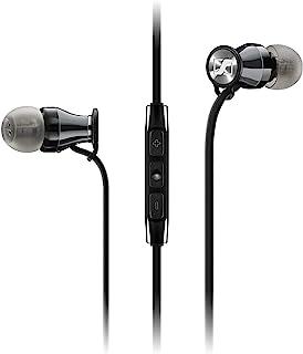 Sennheiser 森海塞尔 MOMENTUM In-Ear i 入耳式有线耳机 适用于 Apple iOS遥控・带麦克风 _ 颜色:黑色/黑色_ M2 IEI CHROME 508691