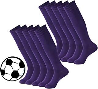 Calbom 彩色管袜,中性及膝足球排球棒球啦队长袜 2/6/10 双