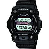 Casio 卡西欧 G-Shock 男士手表 GW-7900-1ER,Black/Black
