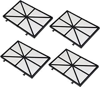 超薄滤芯过滤板,适用于 Nautilus CC Plus,M400,M500 泳池清洁器 Maytronics 部件号:991432-R4(4 件装)