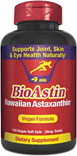 BioAstin 夏威夷虾青素 4mg Vegan 120 softgels 120