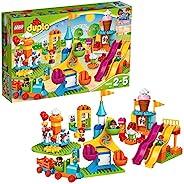 LEGO 乐高 DUPLO Town Big Fair 10840 大型游乐园积木套装,包括摩天轮,旋转木马和游乐园(106块)