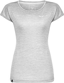 Salewa Puez Melange Dry W S/S T 恤女式 T 恤,女式,Puez Melange Dry W S/S T 恤