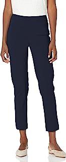 SLIM-SATION Women's Straight-Leg Ankle Pant