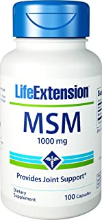 Life Extension - Msm - 1000 Mg - 100 粒(3 瓶装)