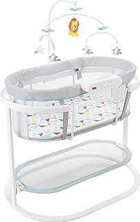 Fisher-Price 舒缓动作摇篮,舒缓宝宝入睡,平静摇摆动作,豪华头顶移动和双模式灯光投影!