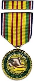 越南战争纪念勋章和丝带套装。