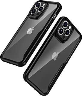 兼容 iPhone 13 Pro 手机壳,重型防震防摔保护套,适用于 iPhone 13 Pro 6.1 英寸,黑色