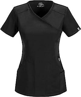 CHEROKEE 女式无限假裹身磨砂衬衫