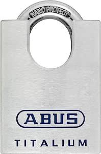 ABUS 708770 – 96 csti/50 _ ka7565 窗帘锁 Titalium 弓保护 纳米保护和钥匙点 50 毫米 带相同钥匙