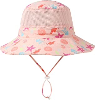 Home Prefer UPF50+ 宽帽檐网眼儿童遮阳帽幼儿婴儿*帽