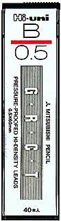 三菱鉛筆 自動鉛筆芯 Hi-uni 0.5 HU05300 B 10個