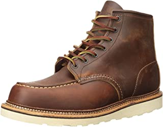 "RED WING 红翼 Classic Work Moc-Toe 男 马丁靴1907 COPPER ""ROUGH & TOUGH\"""