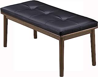 关家具(Sekikagu) 长椅 棕色 宽90×深40×高44厘米 合成皮革 160939