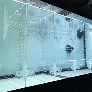 RA AquaTech 亚克力水族箱分隔器套件,带吸盘 10 / 20L / 20H / 29/ 40B 鱼缸(10加仑)