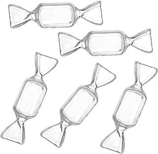 珠宝盒和收纳盒,糖果形状收纳盒透明耳环戒指盒乳环收纳盒,女士首饰盒旅行饰品收纳盒