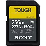 Sony 索尼 256GB SF-M 系列 TOUGH 规格 UHS-II U3 V60 SDHXC 数字存储卡 - 读…