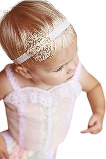 带施华洛世奇水钻的蕾丝柔软头带