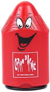 Caran D'ache 双孔铅笔刀红色塑料胡须笔刀 (476.070)