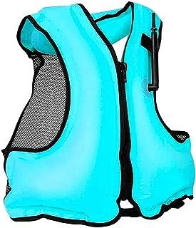 充气夹克游泳背心适合浮潜 适合 80-220 磅的婴儿