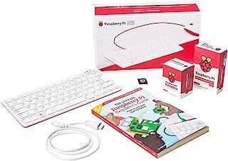 Raspberry Pi 树莓 Pi 400 4GB 官方启动套件,英式布局