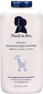 Noodle & Boo 柔和婴儿粉,天然,不含香味,8.8 盎司