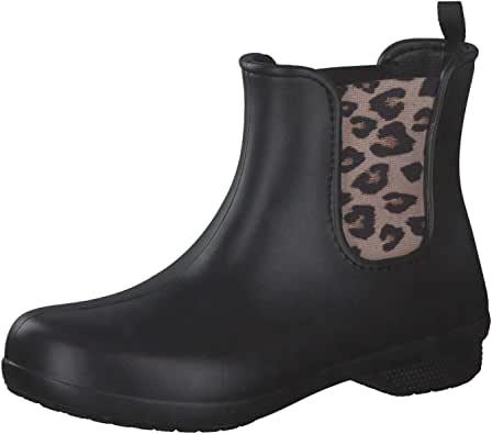 crocs 卡骆驰 Freesail 女士切尔西防雨踝靴