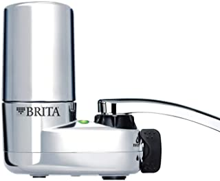 Brita On Tap Chrome Water Faucet Filtration System (Fits Standard Faucets Only) - Chrome (Packaging May Vary) 需配变压器