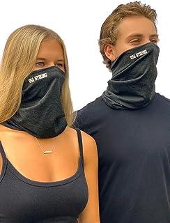 """""""USA STRONG""""定制标志   2 件棉质面罩,*价值 + 2 件活性炭过滤器可更换 + 2 件可调节面罩延长器"""