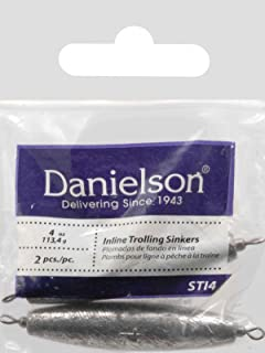 Danielson 丹尼尔森 STI4 Sinker 拖拉直线多重,4 盎司