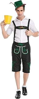 男士巴伐利亚慕尼黑啤酒节服装传统德国啤酒男士角色扮演狂欢节万圣节节日派对服装