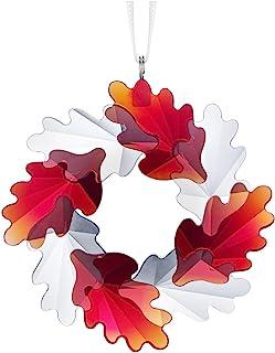 施华洛世奇花环叶装饰,水晶,多色,6.3